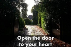 Open the door to your heart